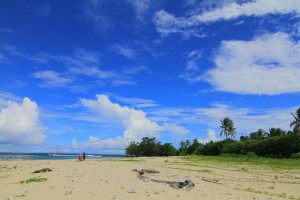 Hamparan PAsir Pulau Oar